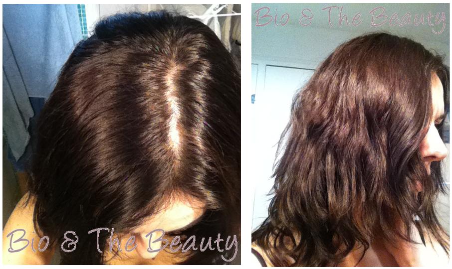 coloration des cheveux avec de la henne