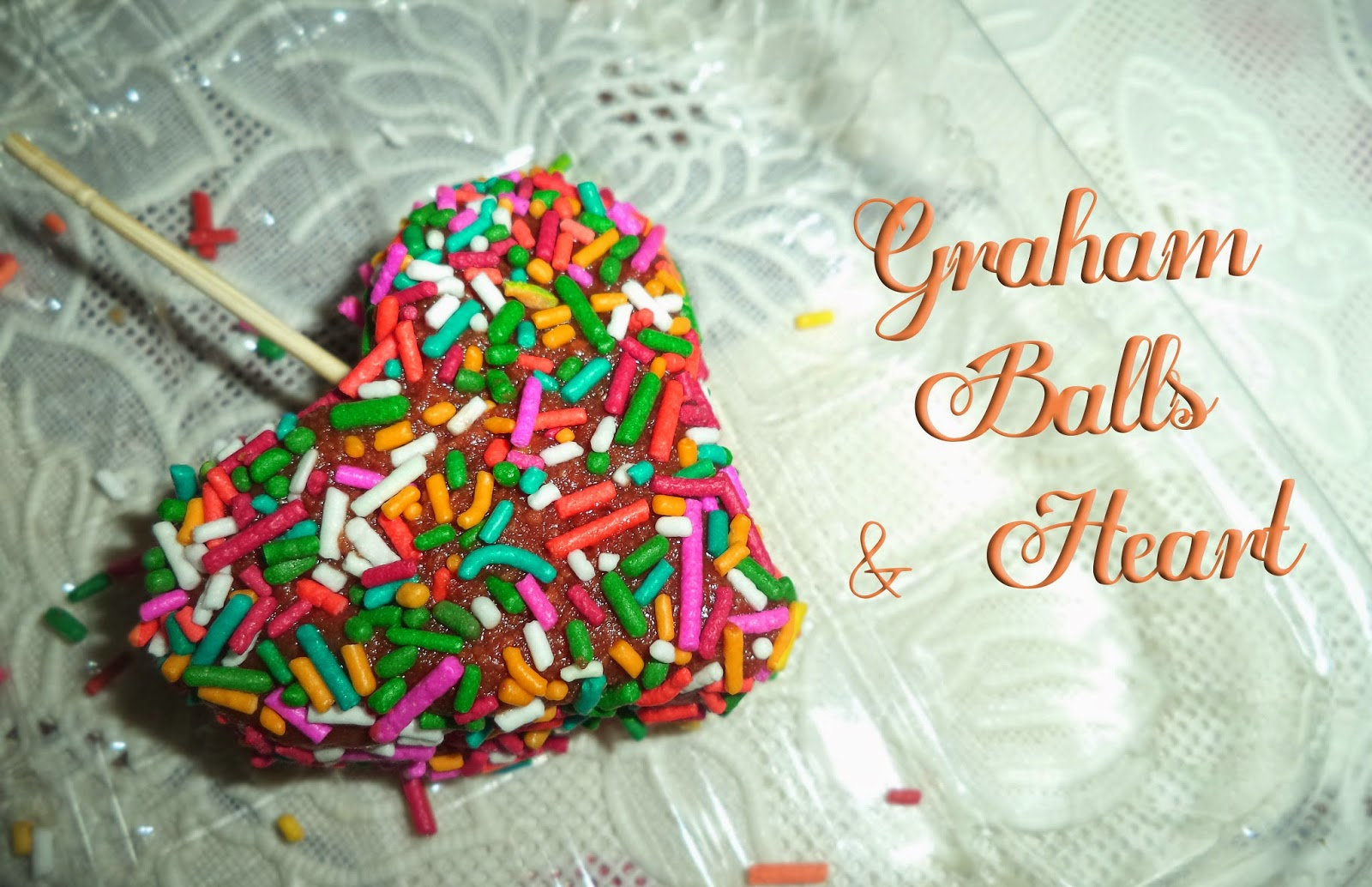 This is how I make my own Graham Balls and Hearts using cookie cutter or cookie molder.