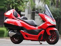 Modifikasi Honda PCX dengan Konsep Touring