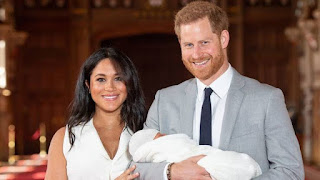 The Duke and Duchess of Sussex have shared the first glimpse of their newborn son.