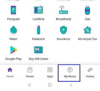 how to delete bank account in phonepe wallate app