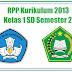 RPP Kurikulum 2013 Kelas 1 SD Semester 2 - SD SWASTA