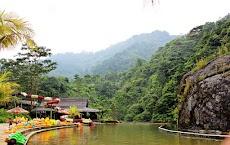 Pemandangan Indah Gunung Pancar Dilihat Dari Curug Bidadari (Air Terjun Bojongkoneng)