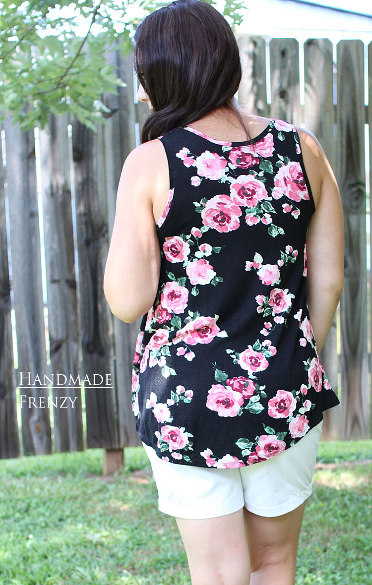Pony Tanks // Sewing For Women