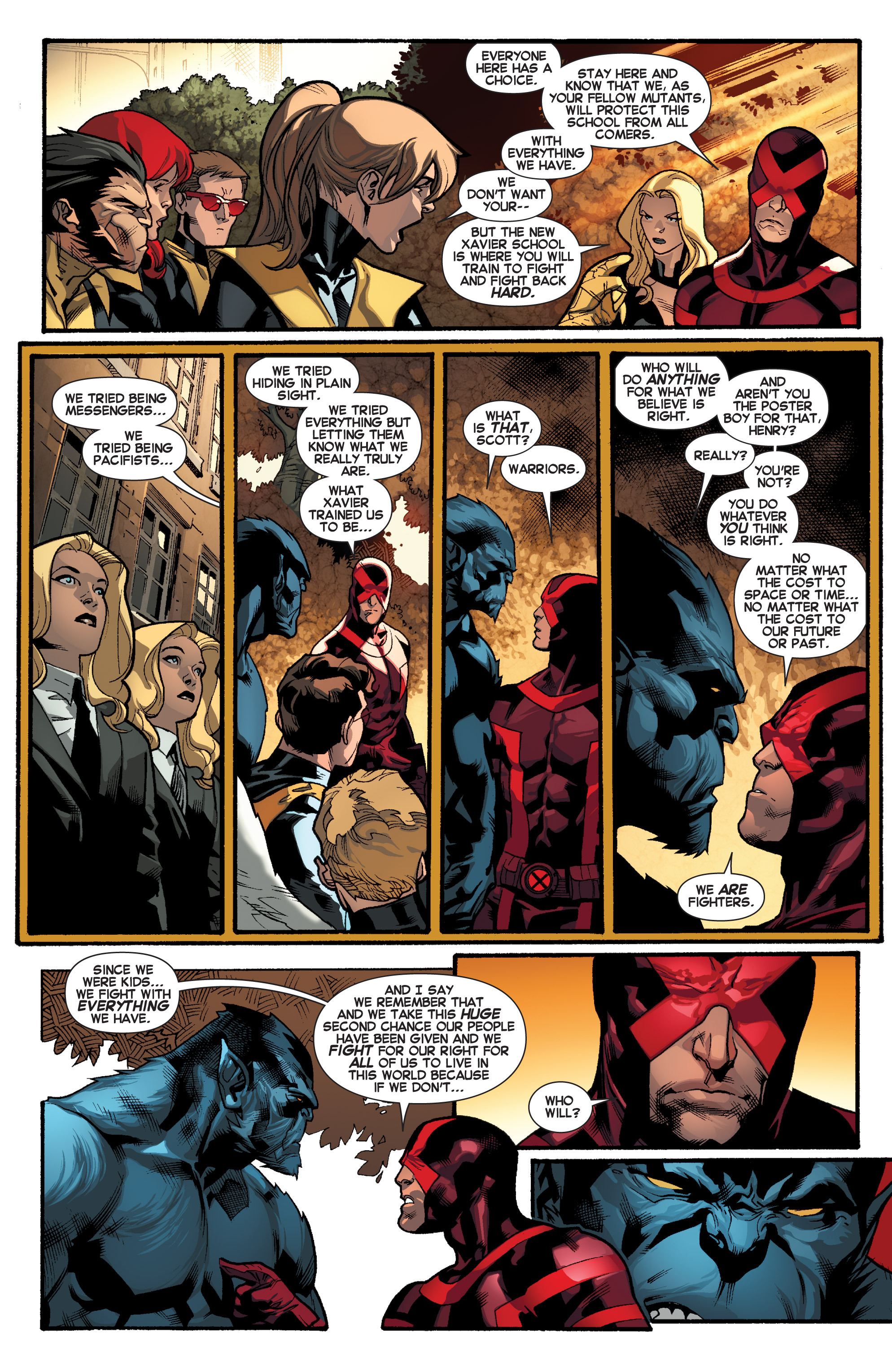 Read online All-New X-Men (2013) comic -  Issue # _Special - Here To Stay - 97