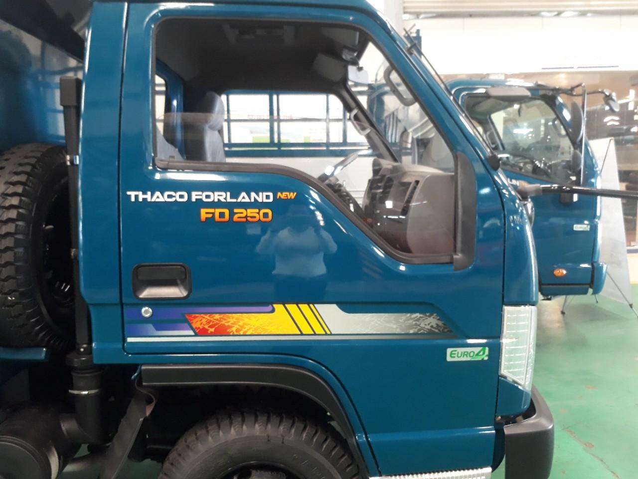 Giá xe ô tô tải ben 2.5 tấn tại Hải Phòng