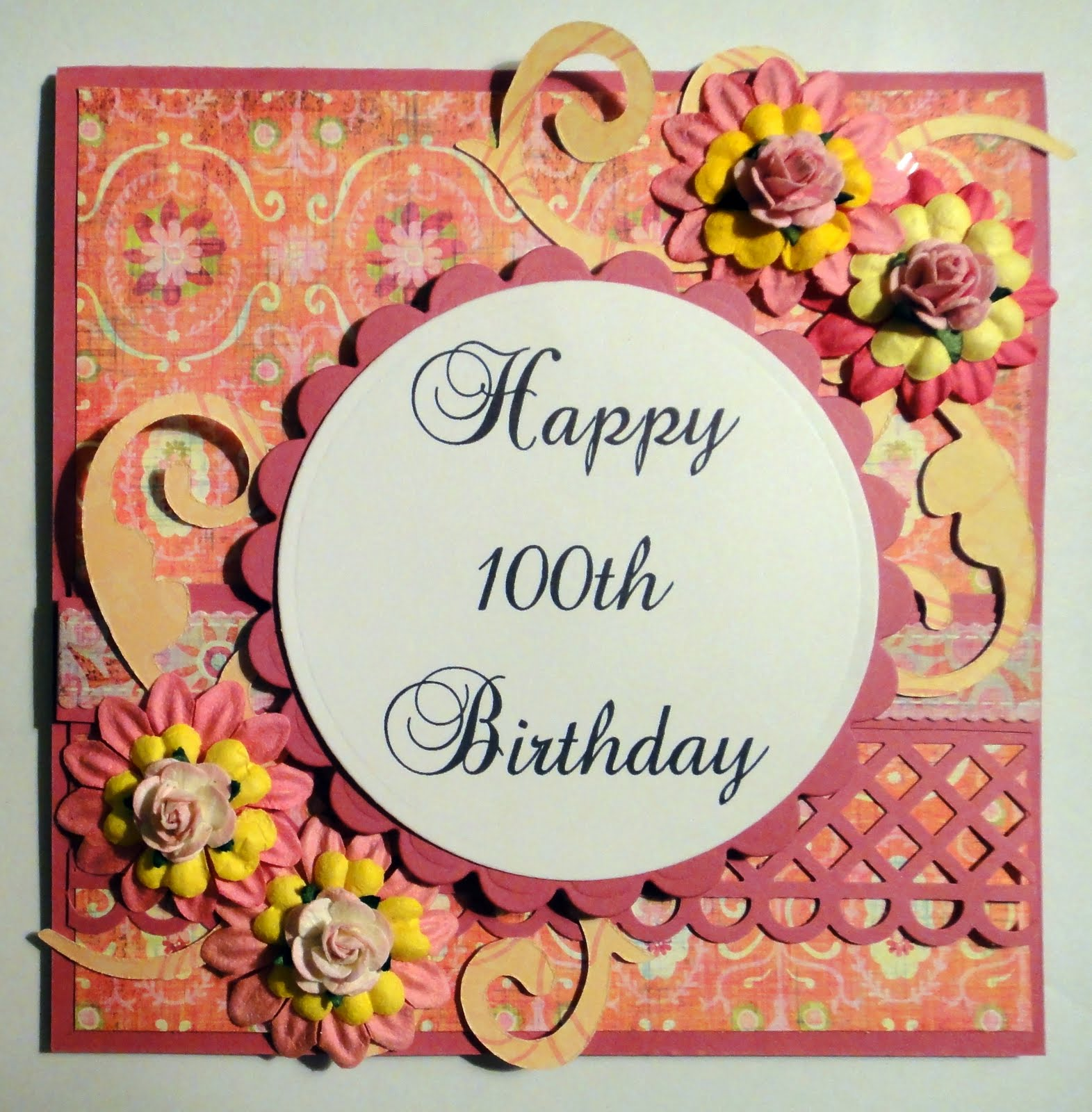 Time to create happy 100th birthday and magnolia candy happy 100th birthday and magnolia candy bookmarktalkfo