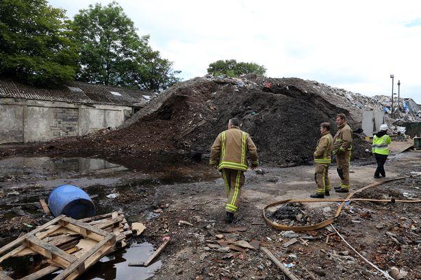 D-Day for smouldering blaze at former Hunters waste tip in Lockwood