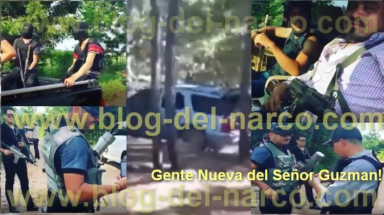 Video la Gente Nueva del Señor Guzmán patrullando el Área y Ejecutando Contras