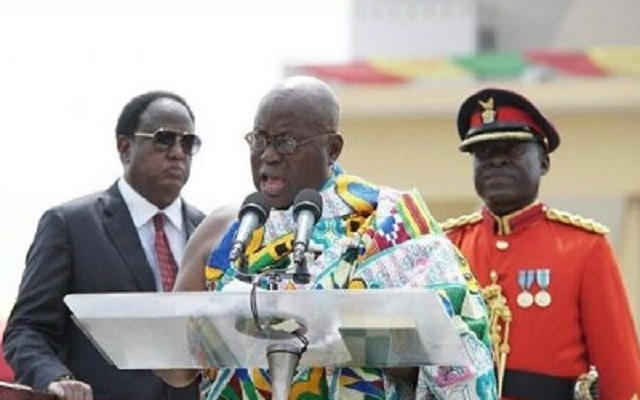 We'll not settle for 3rd world standards - Nana Addo
