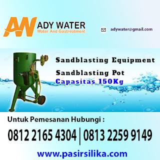 Alat sandblasting yang dijual Ady Water