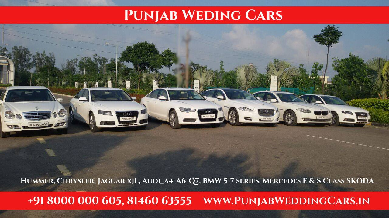 Luxury Wedding Cars Hire Punjab Chandigarh India Royal Luxury Cars