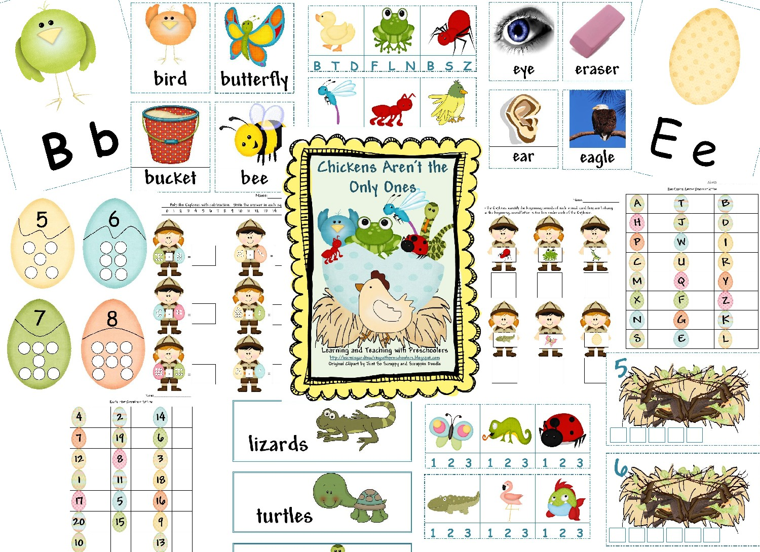 Learning And Teaching With Preschoolers Chickens Aren T