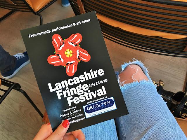 Lancashire Fringe Festival Flyer