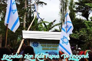Papua.! Zionisme mengancam Papua dan dunia