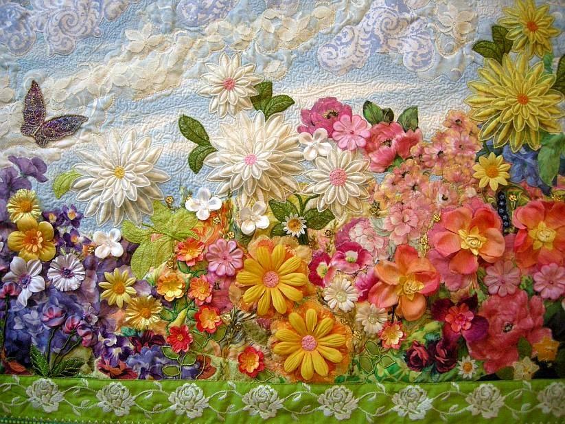 """My Secret Garden: Allie's In Stitches: """"My Secret Garden"""" Project...finished"""