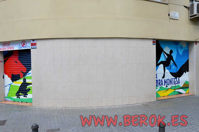 graffiti persianas deportes