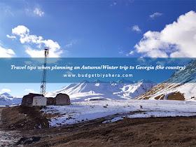 Budget Biyahera - Georgia Mountains