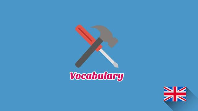 Kosakata Bahasa Inggris Peralatan Tukang Disertai Gambar Dan Pronunciation