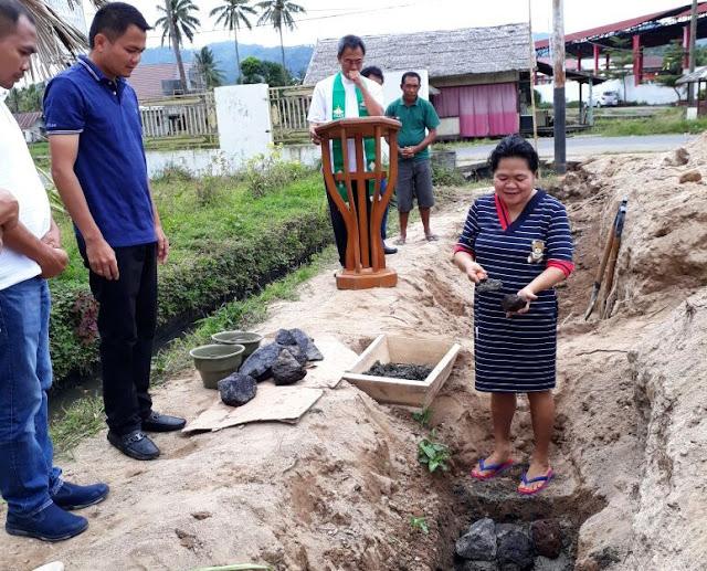 Pembangunan Pertamina BBM di Desa Tombatu