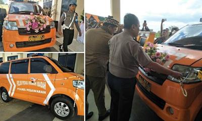 Kunjungan Kerja Ke Polres Pesawaran Kapolda Resmikan Mobil Polisi Peduli Rumah Ibadah