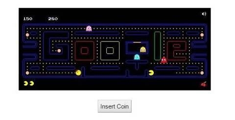Conheça os Jogos secretos do Google pac man