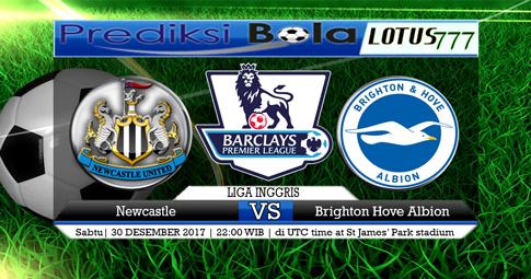 PREDIKSI  Newcastle vs Brighton Hove Albion  30 DESEMBER 2017