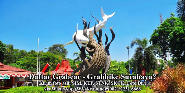 Daftar Grabcar Grabbike Surabaya