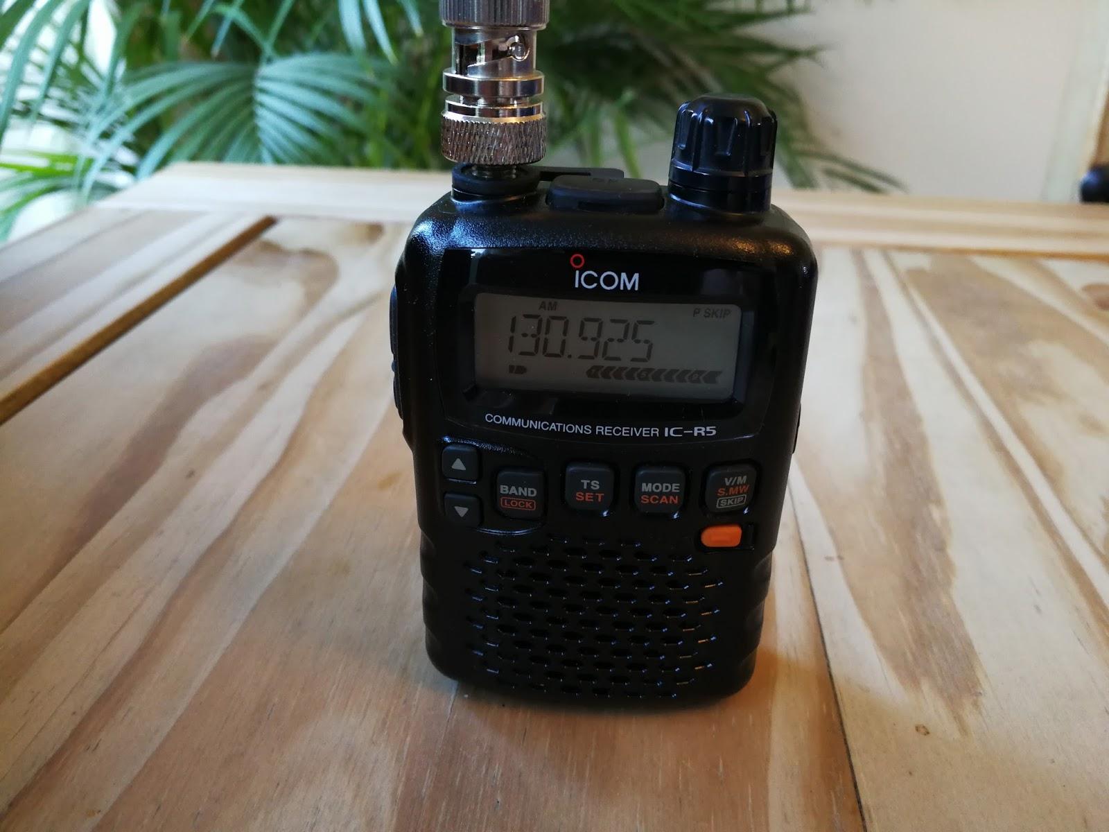 Airband Radio & Aviation Enthusiasts Blog: ICOM IC-R5