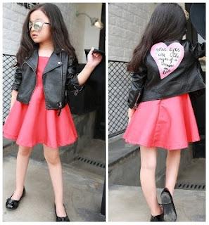 Model Jaket Anak Perempuan