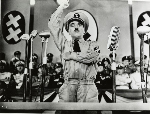 Charlie Chaplin The Great Dictator 1940 political comedy