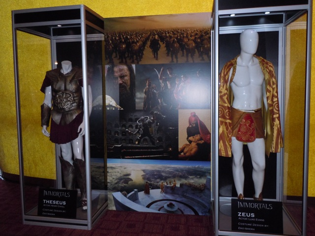 Immortals costume exhibit