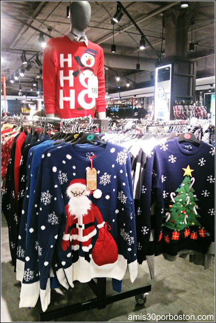 Ugly Christmas Sweater: Primark Boston