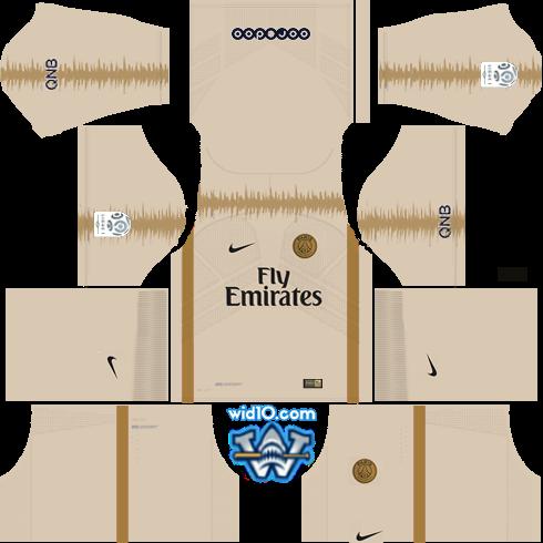 Paris Saint-Germain (PSG) 2018/2019 - Forma (Kits) & Logo