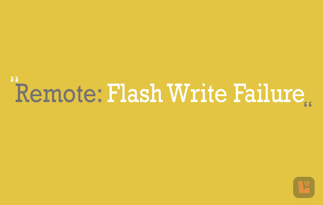 Cara Atasi Error Remote: Flash Write Failure Xiaomi Pada Aplikasi Mi Flash 2