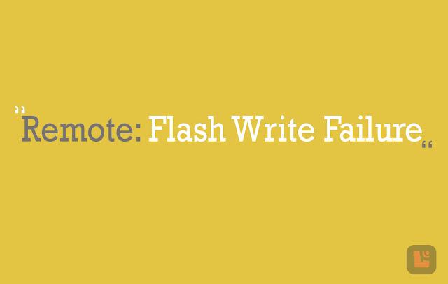 Cara Atasi Error Remote: Flash Write Failure Xiaomi Pada Aplikasi Mi Flash 8
