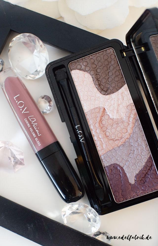 L.O.V, LOViconyx Eyeshadow & Contouring Palette, Lipgloss
