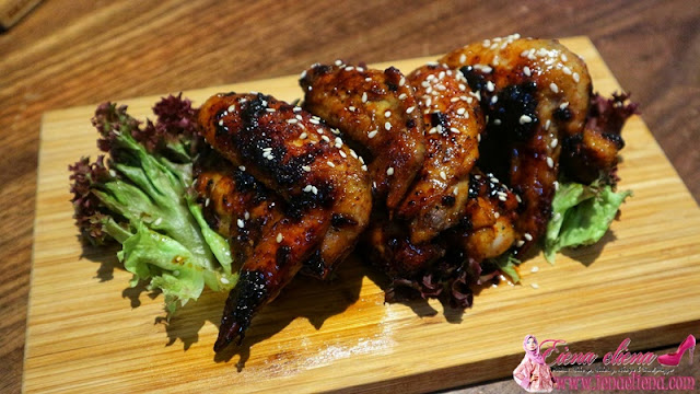 Roasted Chicken Wings With Honey Glazed