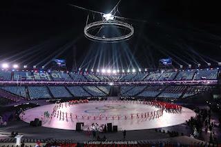 Cérémonie d'Ouverture des 32emes Jeux Olympiques PyeongChang - Corée du Sud ©Laurent Salino / Agence Zoom