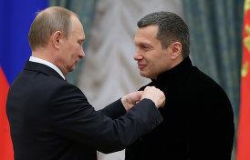 Как карикатурные восхваления Путина стали информационной политикой
