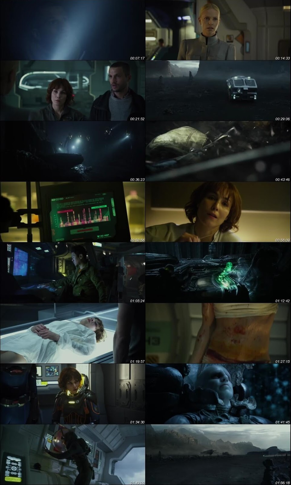 Prometheus 2012 Dual Audio 720p BRRip [Hindi – English]