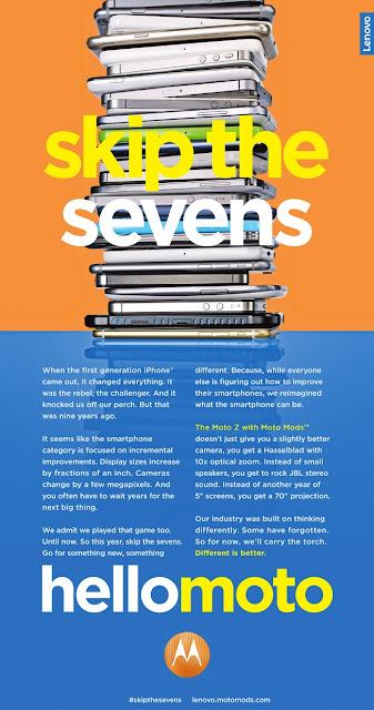 Motorola - Skip the sevens