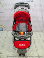 Kereta Bayi Pliko PK338 Boston Roda 3 Red