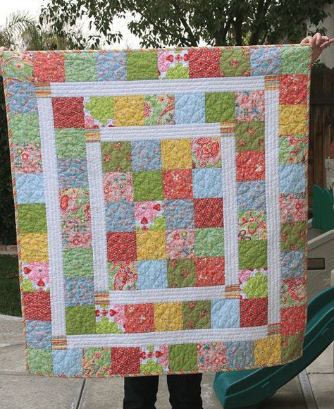 Kelsie Baby Quilt Free Pattern