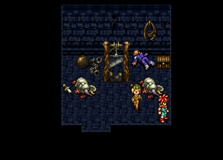 Crono is freed from Prison Towers' torture and execution room in 1000 AD