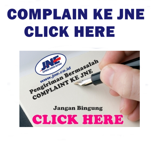 Complain paket JNE