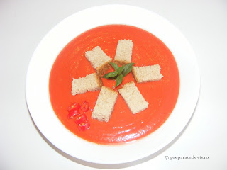Gazpacho clasic retete culinare,