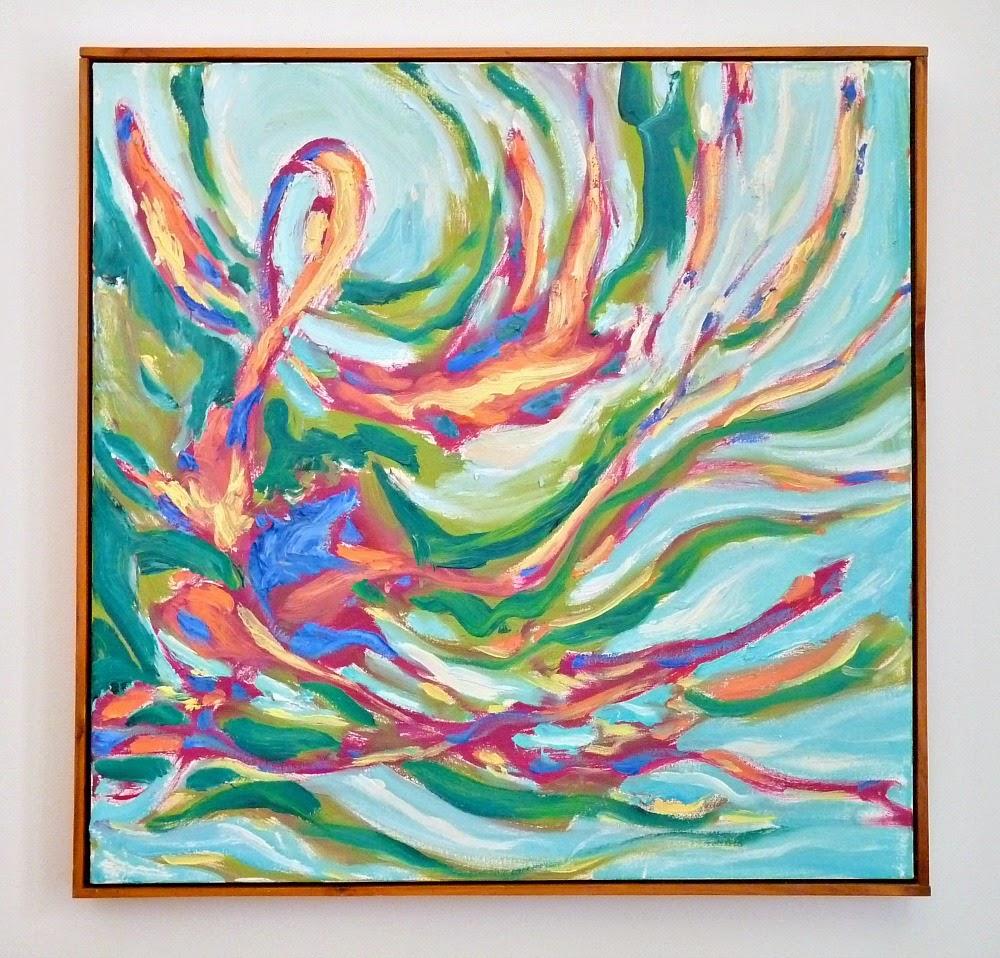 Bert Weir Abstract Painting