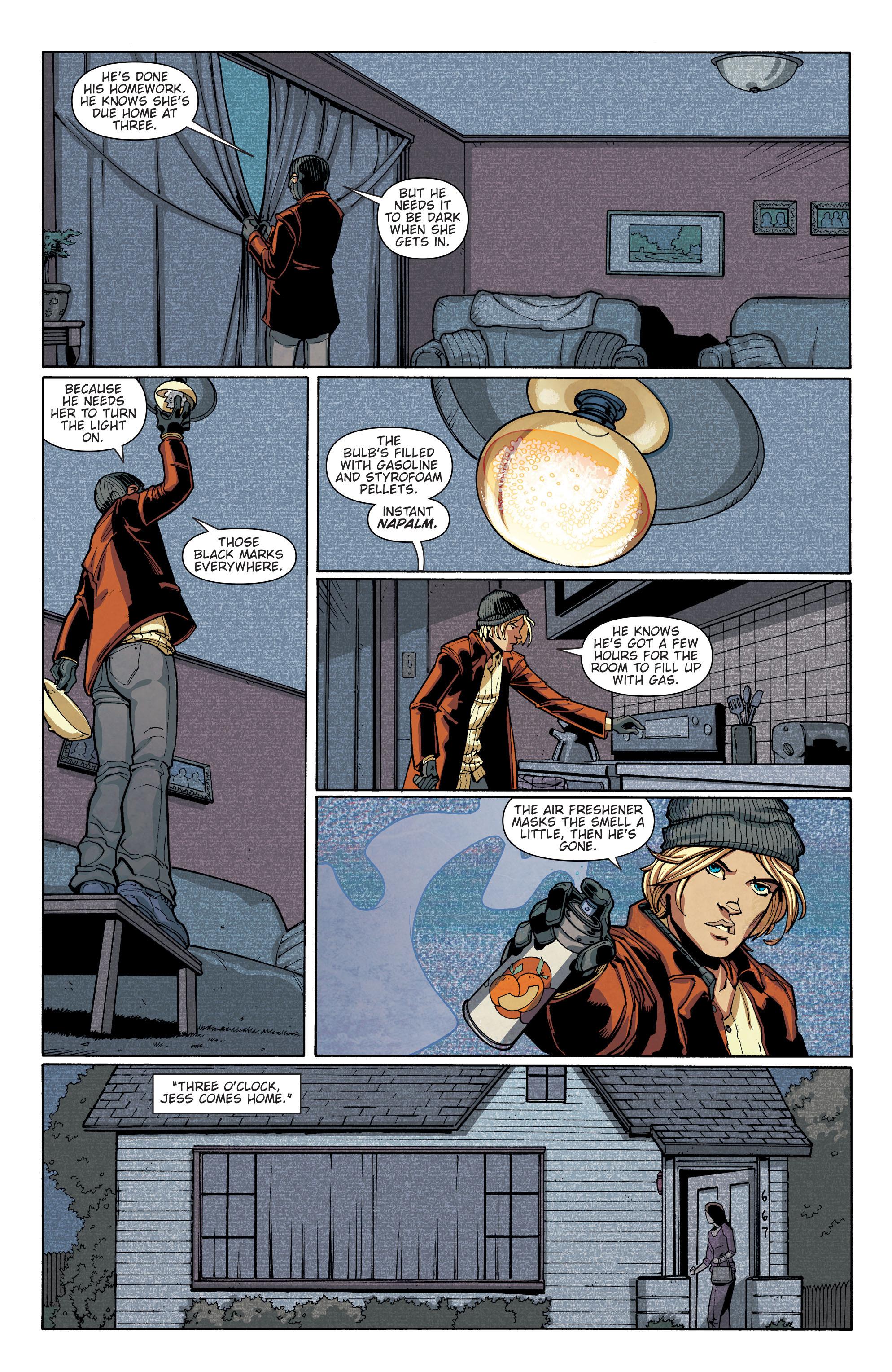 Read online Slash & Burn comic -  Issue #4 - 12
