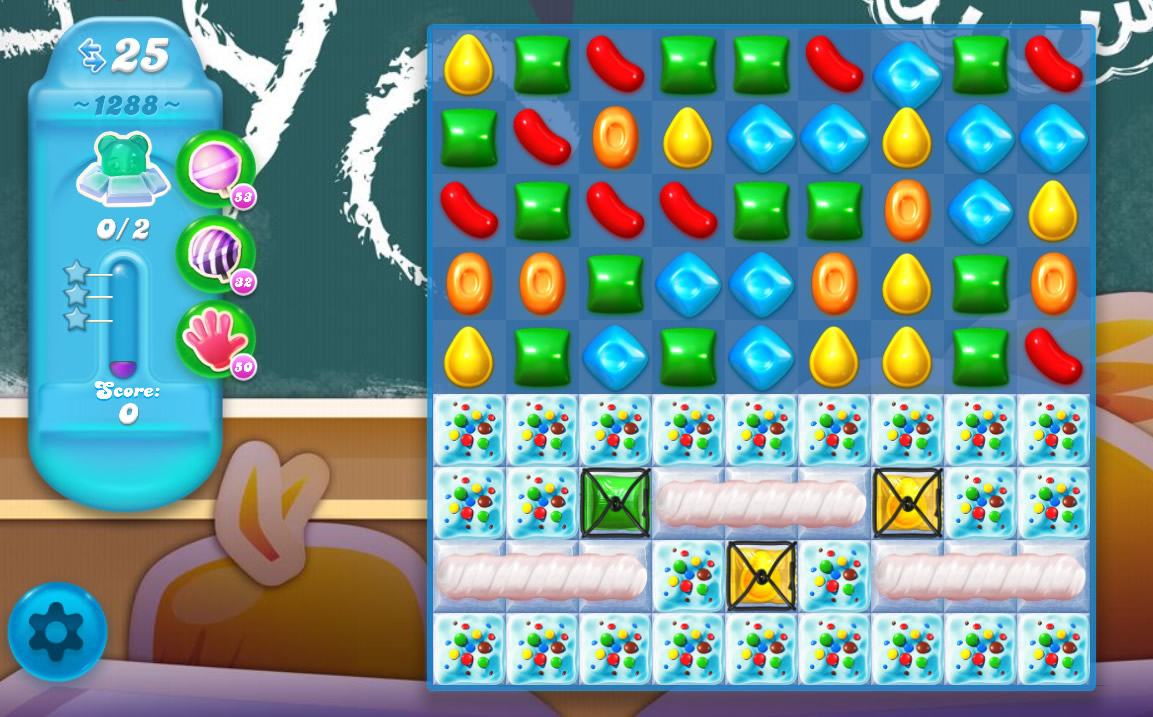 Candy Crush Soda Saga level 1288